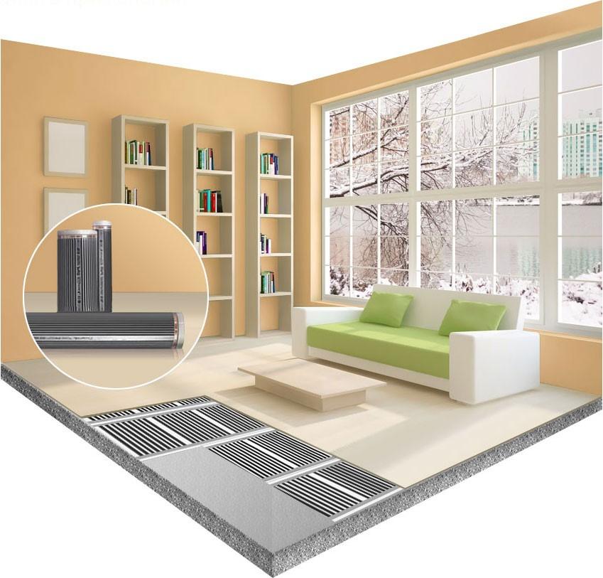 Інфрачервона тепла підлога  1