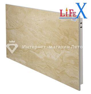 Керамическая инфракрасная панель LifeX КОП600 (Бежевый мрамор)