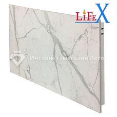 Керамічна інфрачервона панель LifeX КОП600 (Білий мармур)