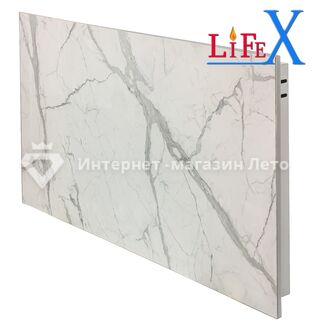 Керамическая инфракрасная панель LifeX КОП600 (Белый мрамор)