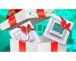 Купи теплый пол и получи терморегулятор в подарок!