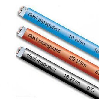 Саморегулирующийся нагревательный кабель DeviPipeguard (Дания)