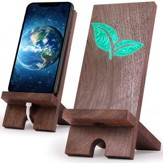 Подставка из дерева для телефона и планшета WoodsTime
