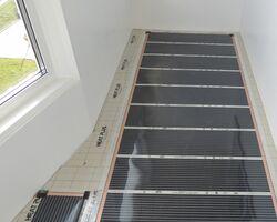 Электрический пол на балконе своими руками