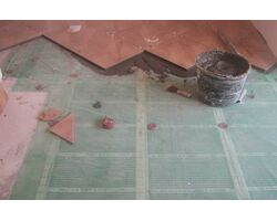 Инфракрасный теплый пол под плитку. Делать или нет?